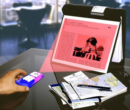 Vest pocket projector : cebinizdeki projeksiyon cihazı