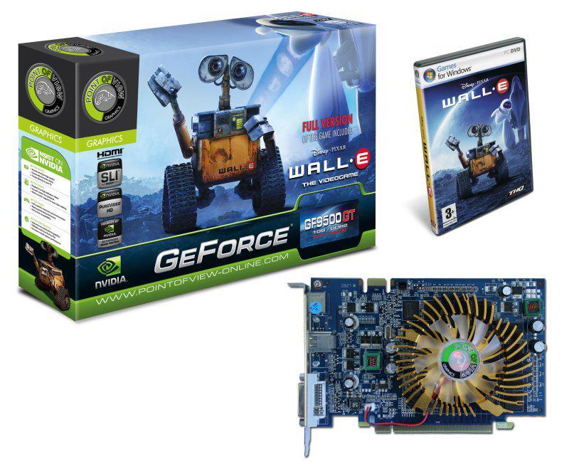 Point of View GeForce 9500GT tabanlı yeni modellerini duyurdu