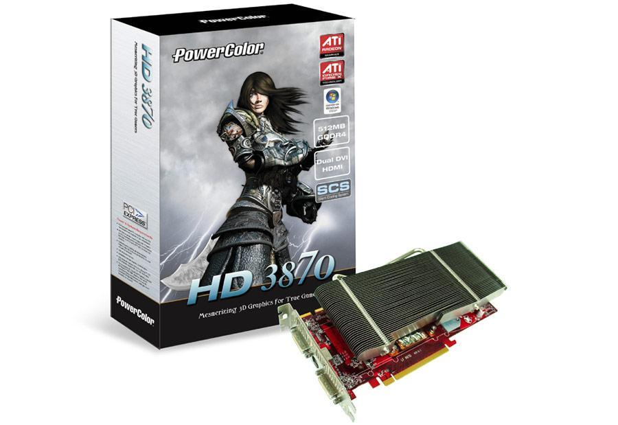 PowerColor'dan pasif soğutmalı HD 3870