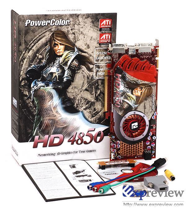 PowerColor Radeon HD 4850 mercek altında
