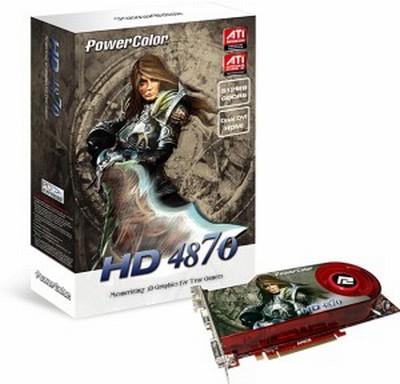 PowerColor 1GB GDDR5 bellekli Radeon HD 4870 modelini hazırlıyor