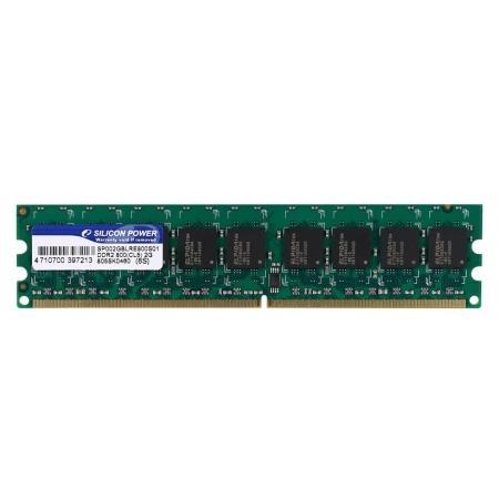 Silicon Power 2GB kapasiteli DDR2-800MHz ECC modülünü duyurdu