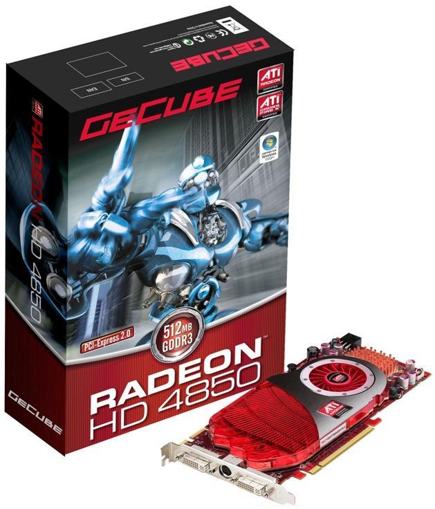 GeCube Radeon HD 4850 modelini duyurdu