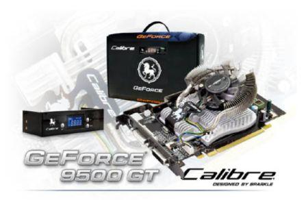 Sparkle GeForce 9500GT Calibre GBox modelini duyurdu