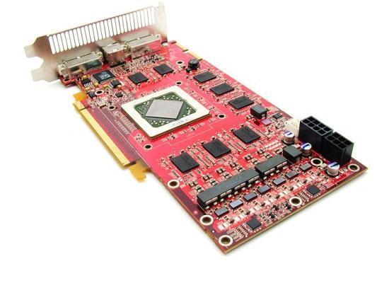 ATi R600 üzerinde 320 adet stream işlemcisi bulunuyor