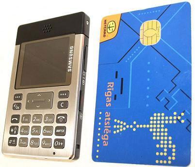 Kredi kartı kadar alanda son model cep telefonu ; Samsung SGH-P300