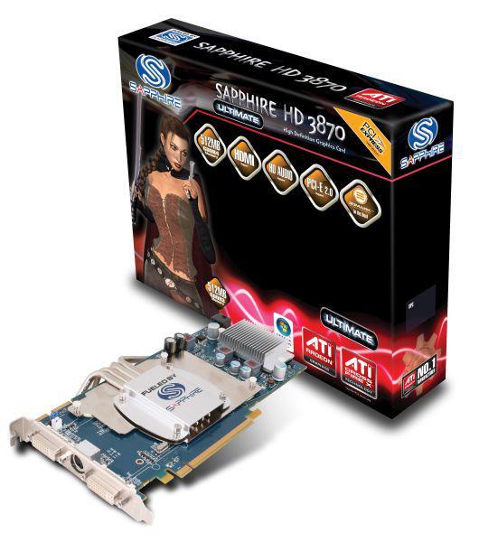 Sapphire'in Radeon HD 3870 Ultimate modeli haftaya TR'de satışta
