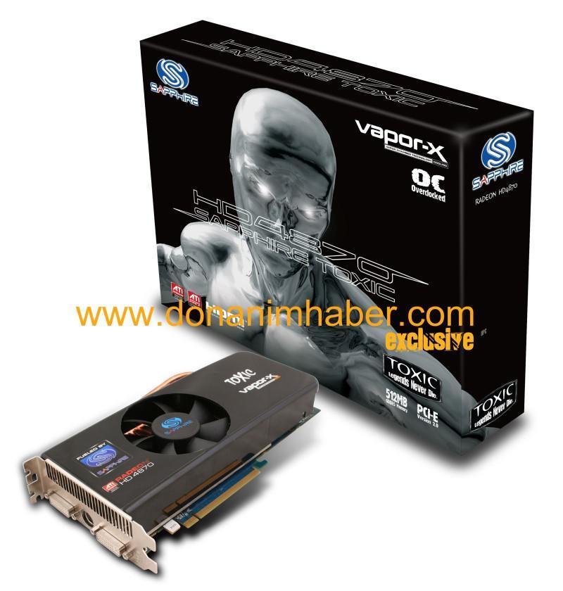 DH Özel: Sapphire'in Radeon HD 4870 TOXIC modeli hazır