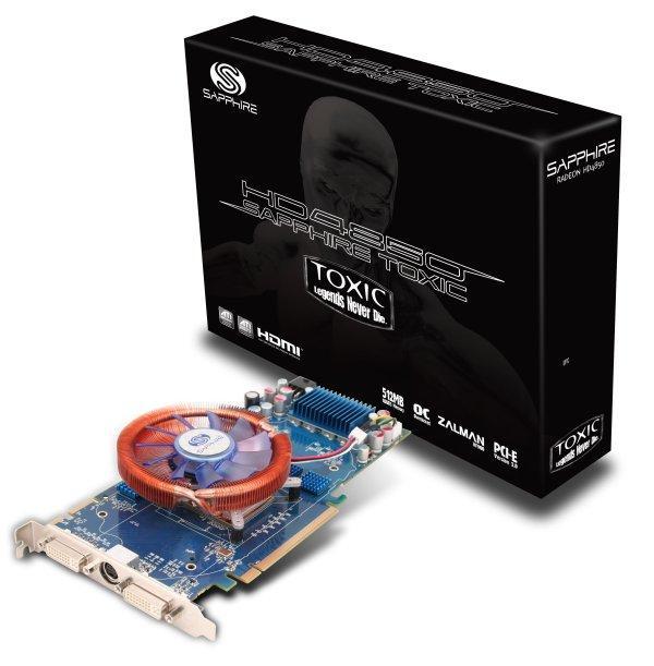 Sapphire HD 4850 TOXIC ve HD 4850 1GB'ın Türkiye fiyatları belli oldu