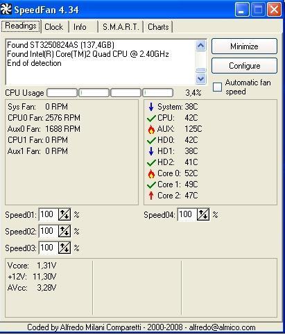 SpeedFan v4.34 kullanıma sunuldu