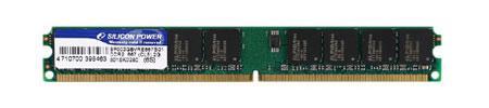Silicon Power 667MHz'de çalışan ultra-düşük profilli DDR2 bellek modülünü duyurdu