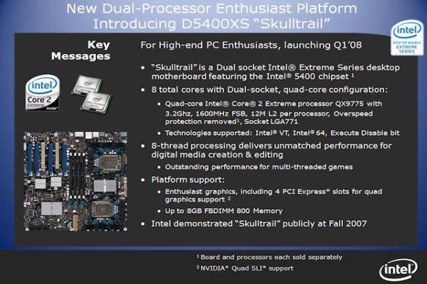 Intel'den 1500$'lık işlemci: Core 2 Extreme QX9775