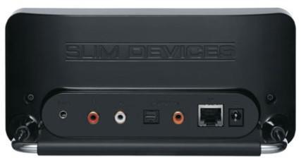 Slim Devices Squeezebox ; oturma odanızda ki yeni nesil mini müzik sistemi