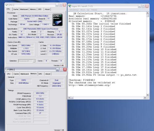 AMD Phenom 9950 ile 4GHz'in üzerine çıkıldı