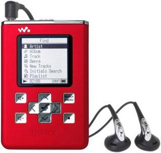Sony'den iPod'a rakip yeni MP3 çalar ; Network WALKMAN NW-HD5