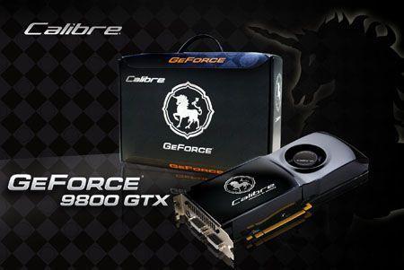 Sparkle GeForce 9800GTX Calibre modelini duyurdu