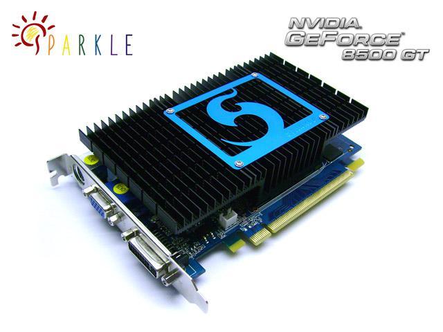 Sparkle 15 farklı GeForce 9500GT modeli hazırladı