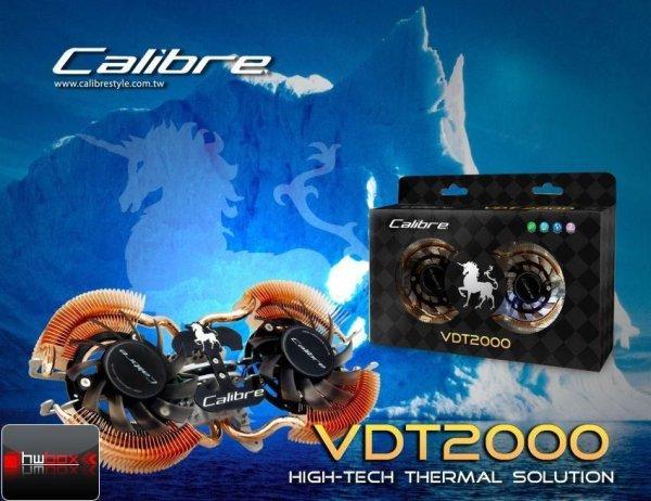Sparkle Calibre serisinde kullandığı çift fanlı soğutucuyu kullanıma sunuyor