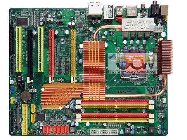 Supox'un P45 yonga setli yeni anakartı Q-SSD özelliği ile dikkat çekiyor