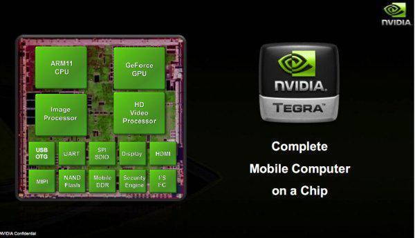 Nvidia'dan Intel'in Atom işlemcilerine yanıt; Tegra serisi yeni mobil çözümler