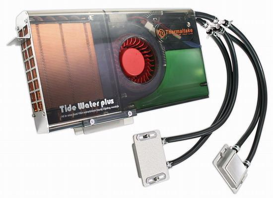 Tidewater yenilendi - Thermaltake' in SLI ve Crossfire sistemler için sıvı soğutma sistemi