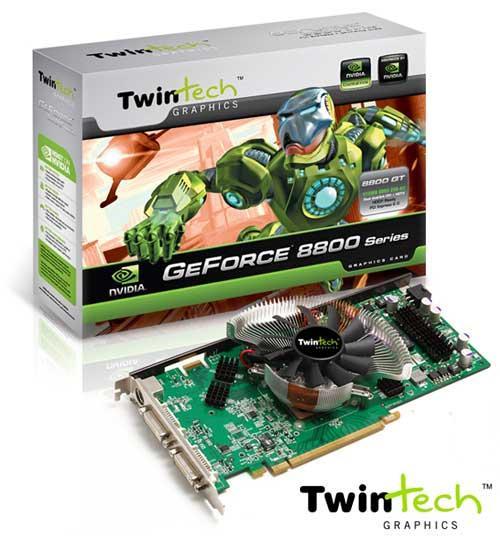 TwinTech soğutması özelleştirilen GeForce 8800GT modelini duyurdu