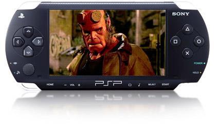Sony PSP için DVD filmlerinlerin uygun medyalı versiyonları sunuluyor