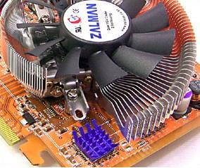 Zalman' dan yeni ekran kartı soğutucusu  -  VF700-AlCu