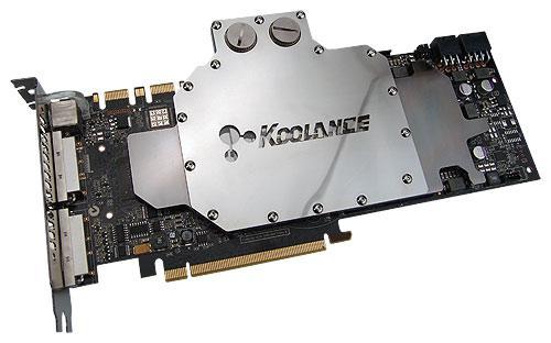 Koolance'dan GeForce GTX 200 serisi için su soğutma bloğu