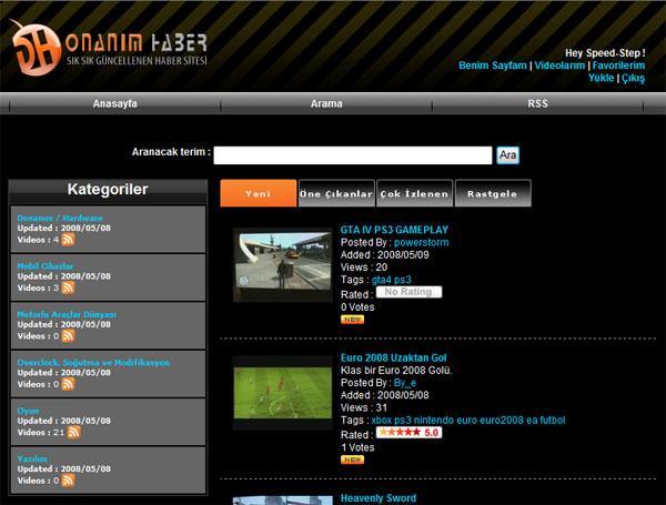 Donanım ve Teknoloji üzerine kurulu dünyanın ilk ve tek video portalı: video.donanimhaber.com açıldı