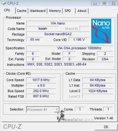VIA Nano L2100 için yeni test sonuçları yayınlandı