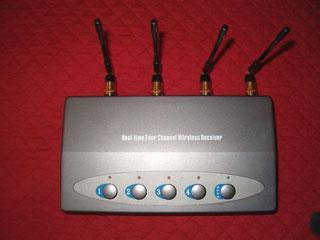4 Channel Wireless Camera System ; Güvenlik kameralarına kabosuz ve ucuz çözüm