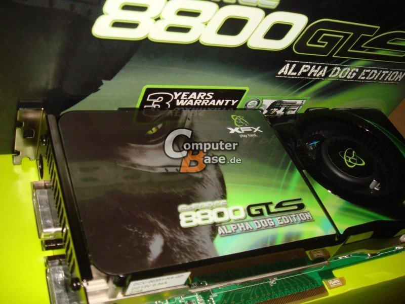 XFX GeForce 8800GTS Alpha Dog lansmanı bekliyor