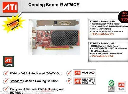 Ati'den ekonomik fiyata Windows Vista sertifikalı yeni ekran kartı