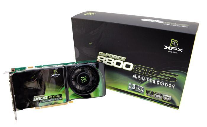 XFX'den 8800GTS Alpha Dog ve XXX modelleri