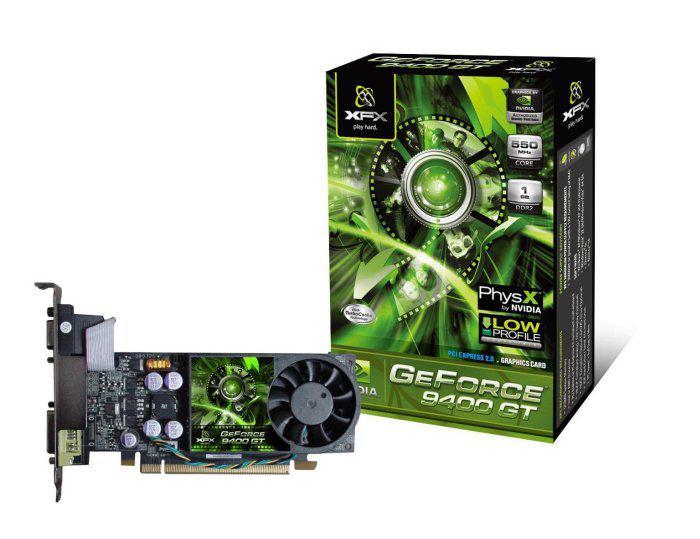 XFX düşük profilli GeForce 9400GT modelini duyurdu