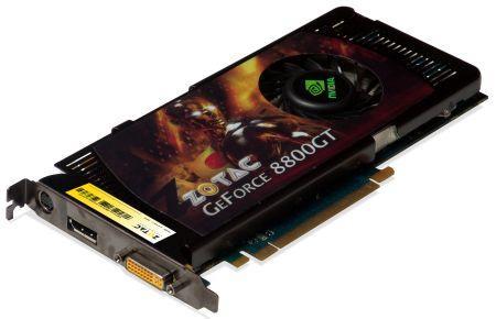ZOTAC'dan DisplayPort destekli ilk GeForce 8800GT
