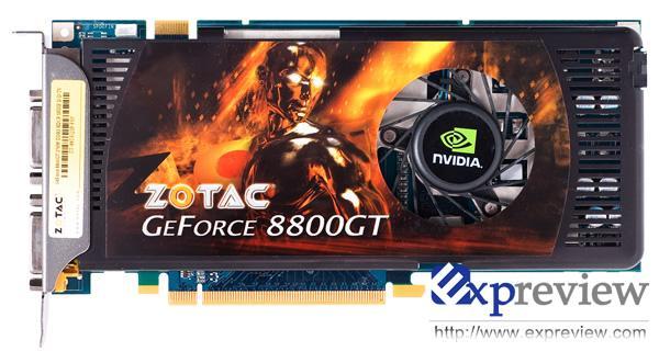 ZOTAC'dan 256MB bellekli 8800GT geliyor