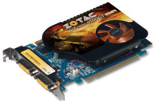 ZOTAC GeForce 9500GT AMP! Edition modelini duyurdu