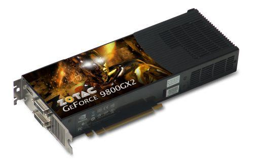 ZOTAC GeForce 9800GX2 modelini duyurdu