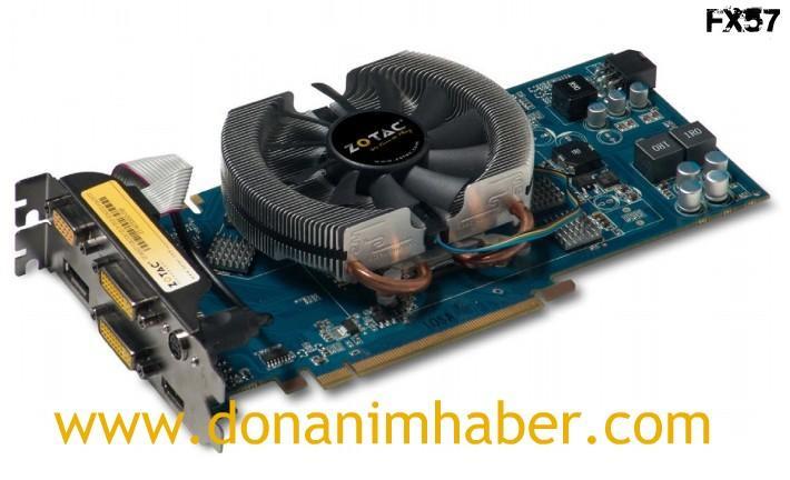 ZOTAC'dan DisplayPort, HDMI, DVI ve VGA destekli GeForce 9600GT