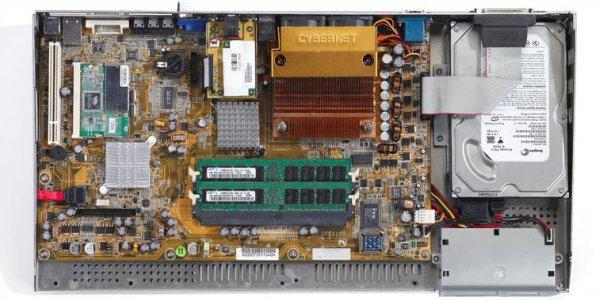 Cybernet'den ZF-GX31; Klavye tasarımlı kompak bilgisayar