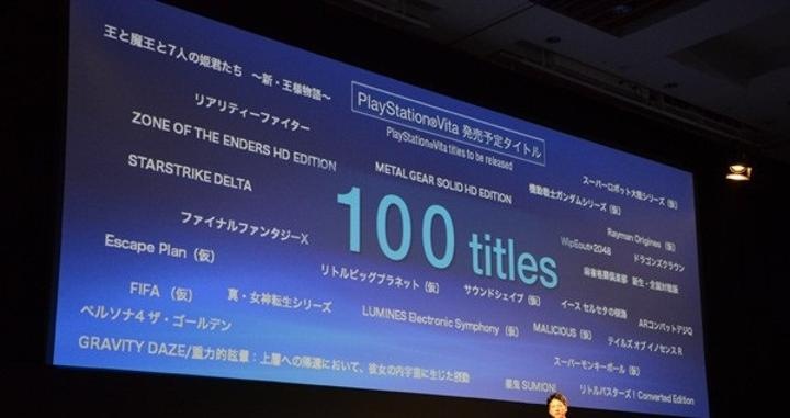 PS Vita 17 Aralık'ta Japonya'da satışa sunuluyor, yanında 26 iddialı oyun var