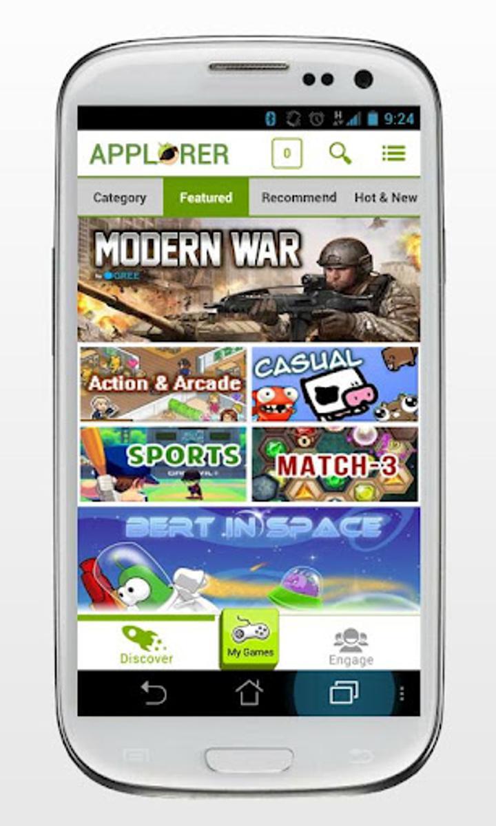 Applorer, Play mağazasındaki oyunları keşfetmek için yeni bir yol sunuyor