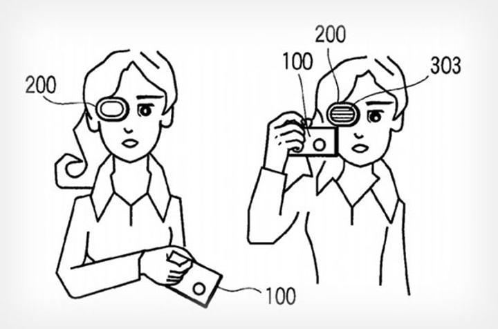 Olympus'tan giyilebilir vizör patenti
