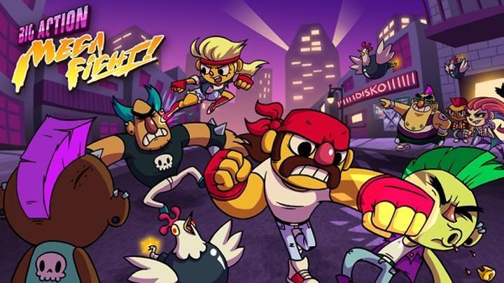 Beat 'Em Up tarzdaki dövüş oyunu Big Action Mega Fight, Appstore'daki yerini aldı