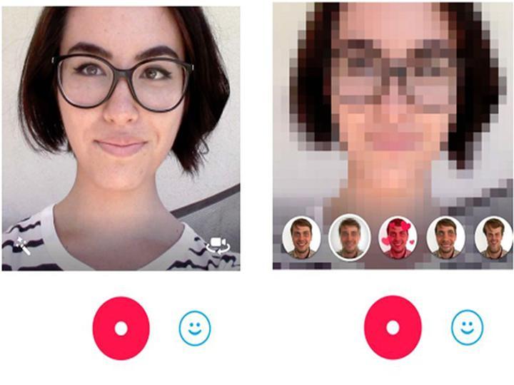 Skype Qik, canlı efektlerle bütün mobil platformlarda güncelleme aldı