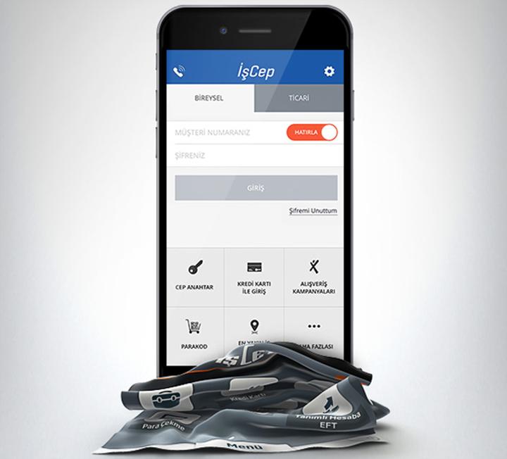 İşCep, iOS tasarımını yeniledi