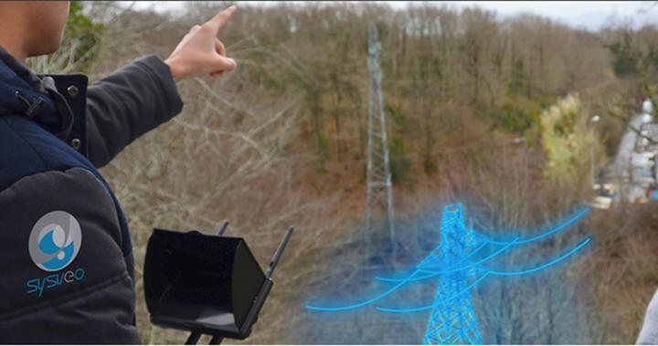 Yeni geliştirilen yazılım, insansız hava araçlarına arttırılmış gerçeklik görüşü getiriyor
