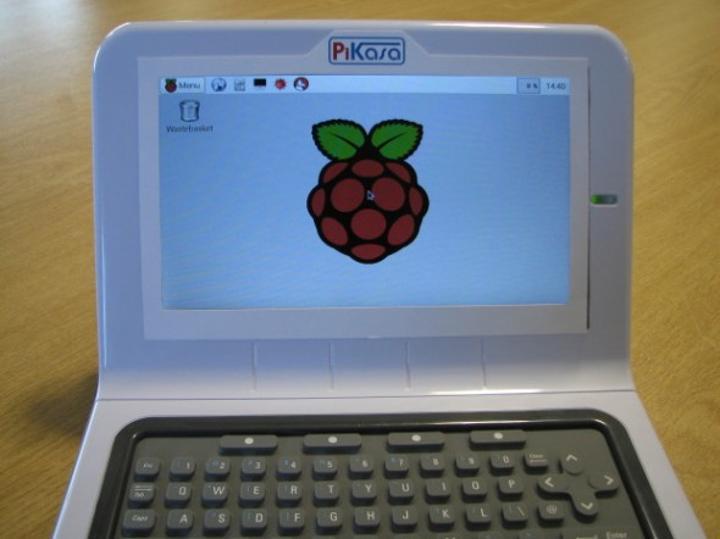 PiKasa isimli proje Raspberry Pi'yi laptopa dönüştürmeyi amaçlıyor